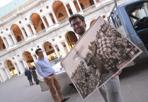 Bianco Rossa - Vicenza, Loggia del Capitaniato. allestimento della mostra «Bianco Rossa». Foto Vito T. Galofaro