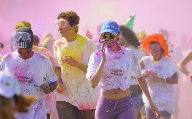 La corsa colorata - A San Martino Buonalbergo, nel Veronese, il 24 maggio c'è la «Rainbow  young run»