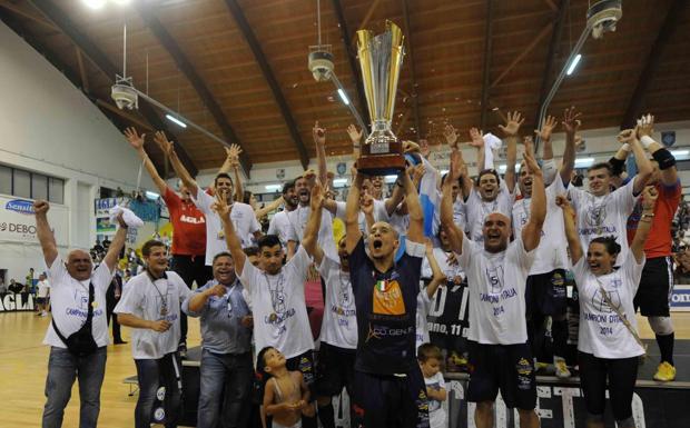 Lupi campioni d'Italia - La Luparense è campione d'Italia per la quinta volta. Diventano così 14 i titoli nazionali per la società padovana