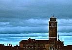 Il cielo sopra Venezia - Il panorama veneziano dopo una giornata di pioggia e Bora (Marco Sabadin/Vision)