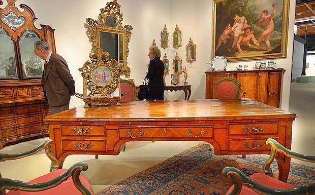 Beautiful Il Paradiso Dei Collezionisti   Una Scrivania Diplomatica Del 1770, Esposta  Alla Mostra Dellu0027