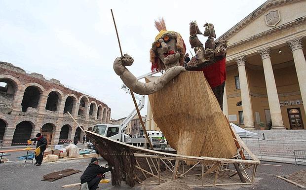 Brusa la vecia - Foto del giorno - Corriere del Veneto