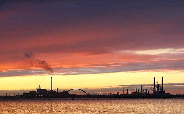 Fabbriche al tramonto foto del giorno corriere del veneto - Fabbriche di mobili in veneto ...