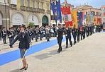 Festa della Polizia - Il 26 maggio si celebra in tutta Italia il 160° anniversario della fondazione della Polizia di Stato. Nella foto un momento dei festeggiamenti nella città di Rovigo (Luca Biasioli)