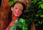Carnevale, i colori del corpo - All'Ipercity di Albignasego (Padova) i migliori artisti di bodypainting italiani e internazionali
