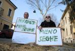 Meno seghe - Manifestazione ambientalista a Rovigo (Biasioli)
