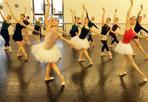 Il lago dei cigni - Le prove del balletto Il Lago dei Cigni che andrà in scena al Teatro Filarmonico di Verona  dal 15 al 18 maggio