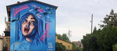Writer il museo diffuso arte come arredo urbano for Arte nell arredo