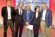 Confronto tv tra i candidatiscintille tra Tosi e Zaia