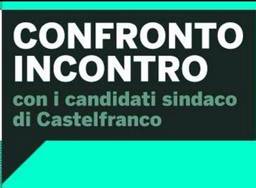 Castelfranco al voto, l'ultima sfida Il confronto tra candidati sindaco