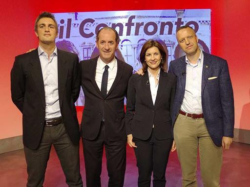 Regionali, su  Sky TG24 il confrontofra i candidati in Veneto