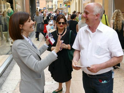 Moretti, passerella a Verona nella città di Tosi | Fotogallery