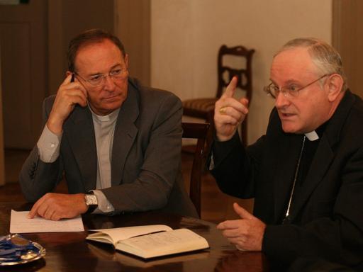 Regionali, lite in diretta tv a Veronatra vescovo e portavoce | Video