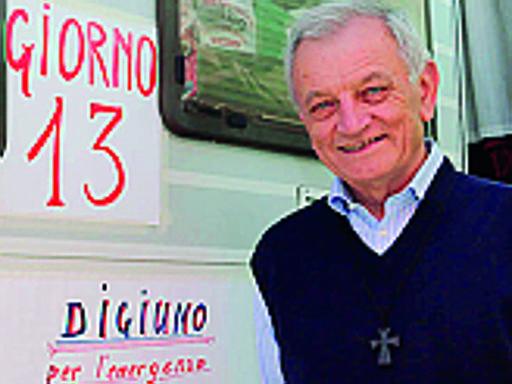 Dopo il digiuno, l'appello di don Bizzotto ai candidati