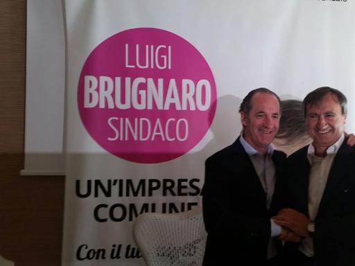 Zaia lancia Brugnaro: «Luigi è pop»Da Rosso a Daverio, poker di CassonDomani il confronto in redazione