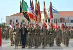 Cambio al comando - Caserma Del Din di Vicenza, cerimonia di cambio al comando della brigata tra il Col. Michael L. Foster e il Col. Gregory K. Anderson (foto Galofaro)