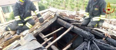 Incendio al tetto di un asilo nido messi in salvo cinque for Arredamento asilo nido usato