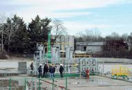 Comincia sul Montello l'estrazionedi metano | Guarda la fotogallery