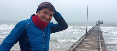 Morandi,  jogging a Jesolo E twitta la foto: �Bello�