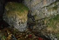 Tre rocciatori bloccati in una golacon la corda per quasi tutta la notte