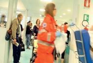 Troppi pazienti, pochi spazi e lettiIl  pronto soccorso diventa pi� grande