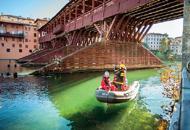 Giornata storica per il �grande vecio� Aperto il cantiere per curare il Ponte