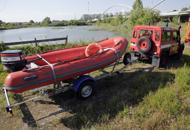 Delitto Noventa, vigili del fuocoal lavoro nel lago di Padova