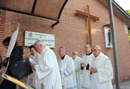 Il vescovo e la veglia per i lavoratori�Preghiamo per i bambini sfruttati�