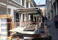 Demolito chiosco di calle AscensioneEsisteva dal 1974: mancava permesso