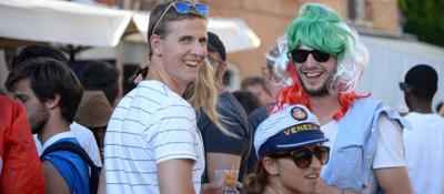 Sfida e passione ai NavigliIl �derby� dell'Erasmus   Foto