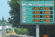 In autostrada benzine alle stelleanche 15 euro in pi� a pieno