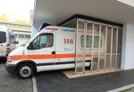 Cade dal terrazzo del secondo pianoBimba di tre anni grave in ospedale