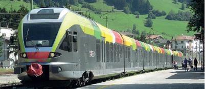 Da Bolzano a Cortina, ora i treni delle Dolomiti sono diventati due