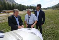 """Aeroporto di Cortina, nuovo piano Zago: """"Dieci milioni, vi stupir�  Vd"""