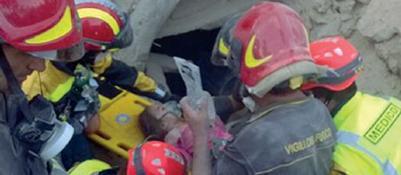 Il sisma e il Veneto in soccorso | FotoTerremoto: �Abbiamo salvato GiorgiaOra speriamo che dimentichi�| VideoQuegli occhi pieni di sete e di gioia