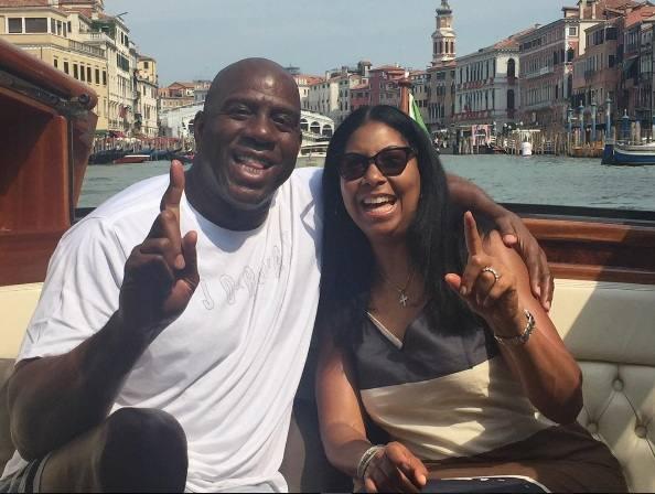 Magic Johnson, nozze d'argento a Venezia e nelle isole della Laguna