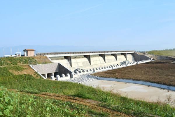 Caldogno, pronto il bacino che salva Vicenza dall'alluvione
