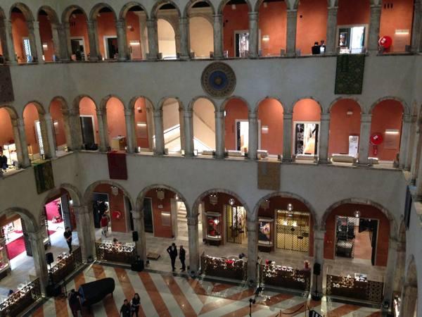 Venezia, ecco il Fontego del lusso