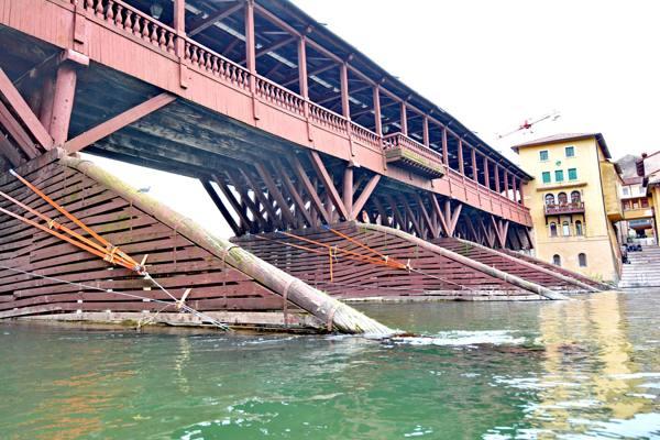Bassano, il Tar accoglie il ricorso I lavori del Ponte alla Vardanega