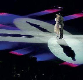 Colonne sonore e balli sul ghiaccio «Cinema on Ice» debutta al Romano