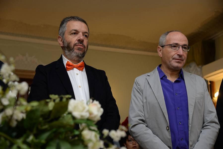 Vincenzo e Giacomo, sì dopo 36 anni «Come vincere alla lotteria»