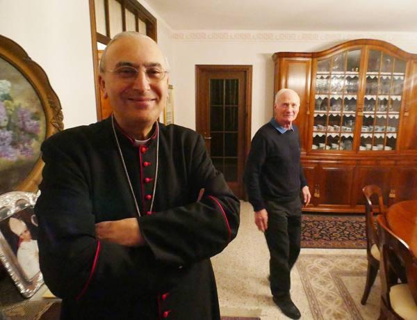 Monsignor Zenari nuovo cardinale l'annuncio del Papa all'Angelus