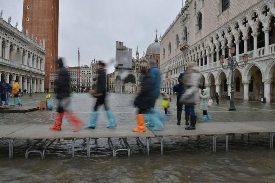 «Aqua granda»: mostre, eventi, convegni Brugnaro: «Governo si ricordi della città»