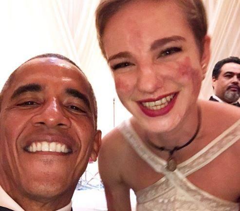 Bebe in Usa: «Ho trovato il coraggio ecco il mio selfie con Obama »