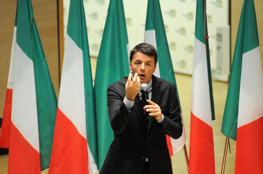 Renzi, tour de force in Veneto