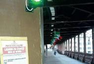 Ponte di Bassano, via ai due semafori C'è il rosso se sale il livello del fiume