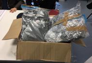 Tre chili di droga in un paccoArrestati quattro cittadini cinesi