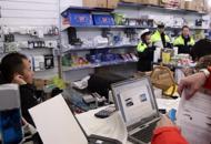 Mille prodotti sequestrati al Centro Ingrosso Cina