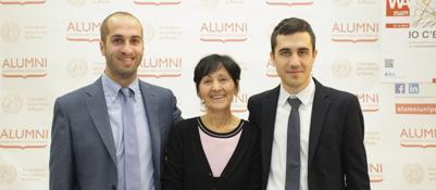 Ambasciatori, scienziati e vipDebutto in grande stile per Alumni