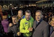 Salvini e Zaia lanciano Bitonci «Tornerà sindaco senza ladri di voti»